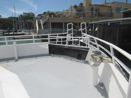 The Tamalpais Main Deck