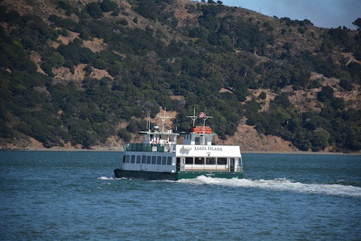 The Angel Island Ferry Back