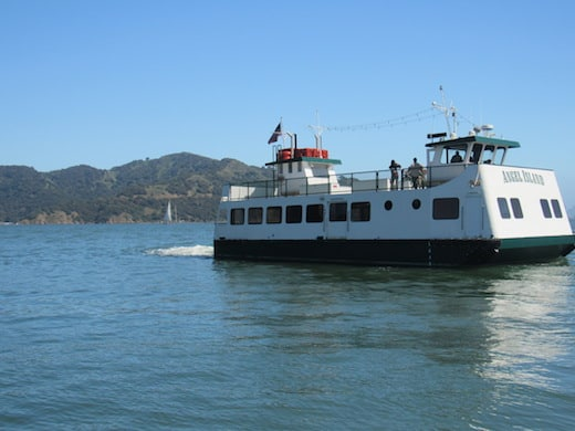 The Angel Island Ferry Side
